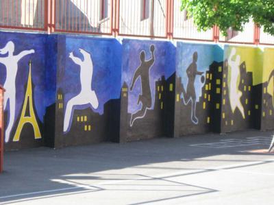 """Mural de """"Los perales"""""""