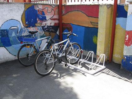 Al cole.... en bici